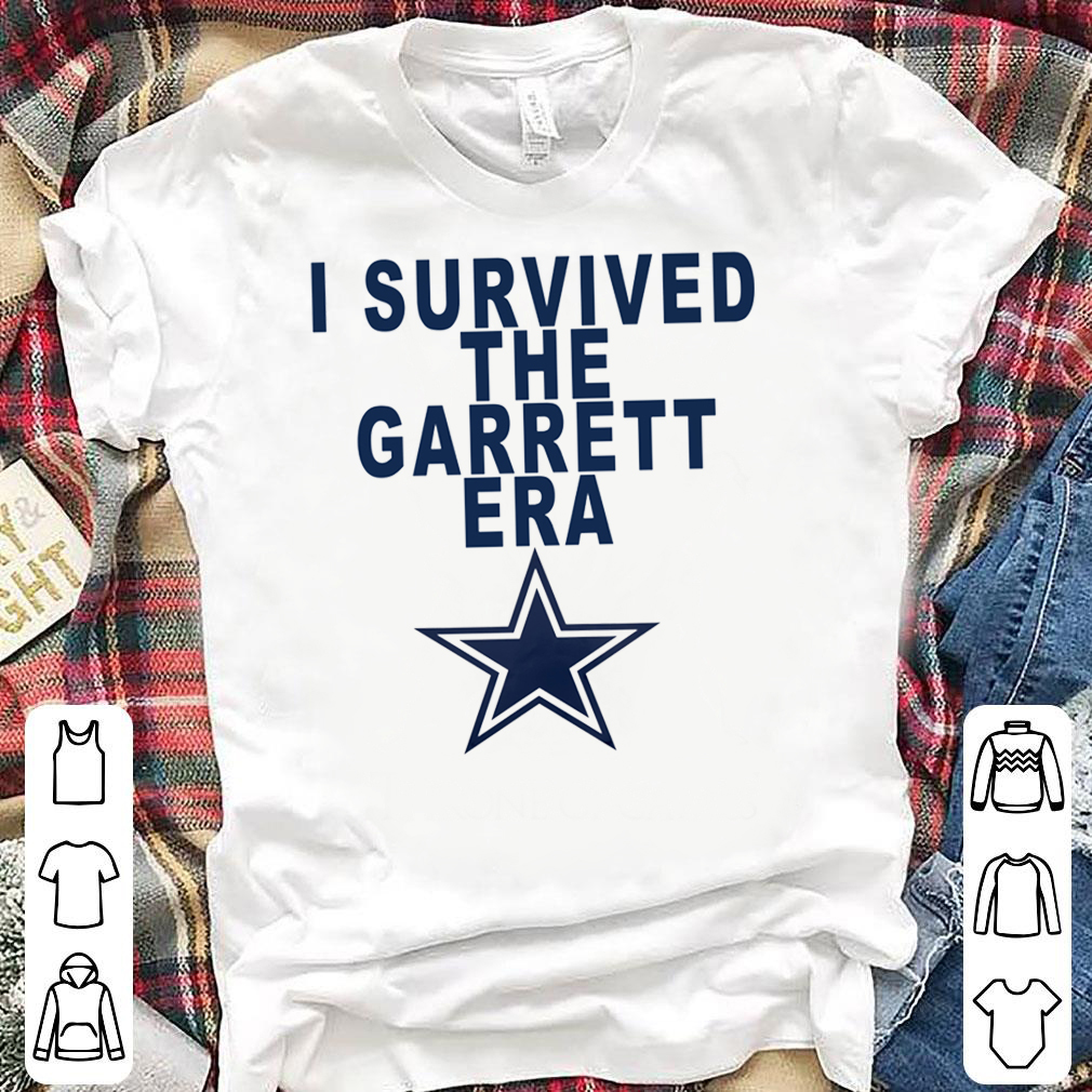I SURVIVED THE GARRETT ERA GIFT T-SHIRT