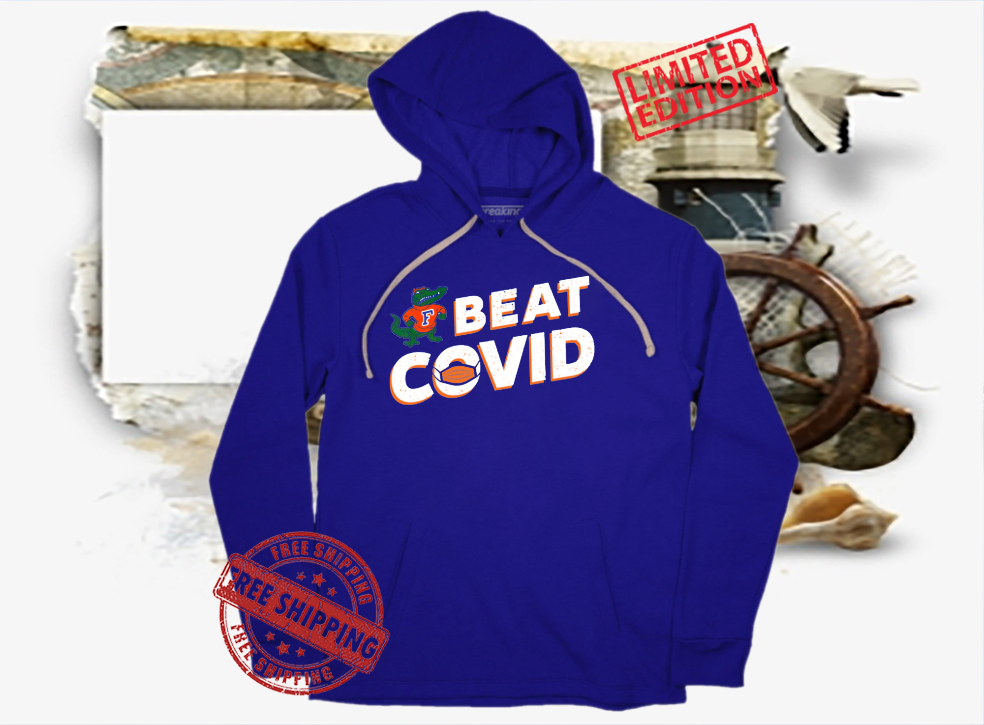 US Florida Gators Beat Covid Shirt