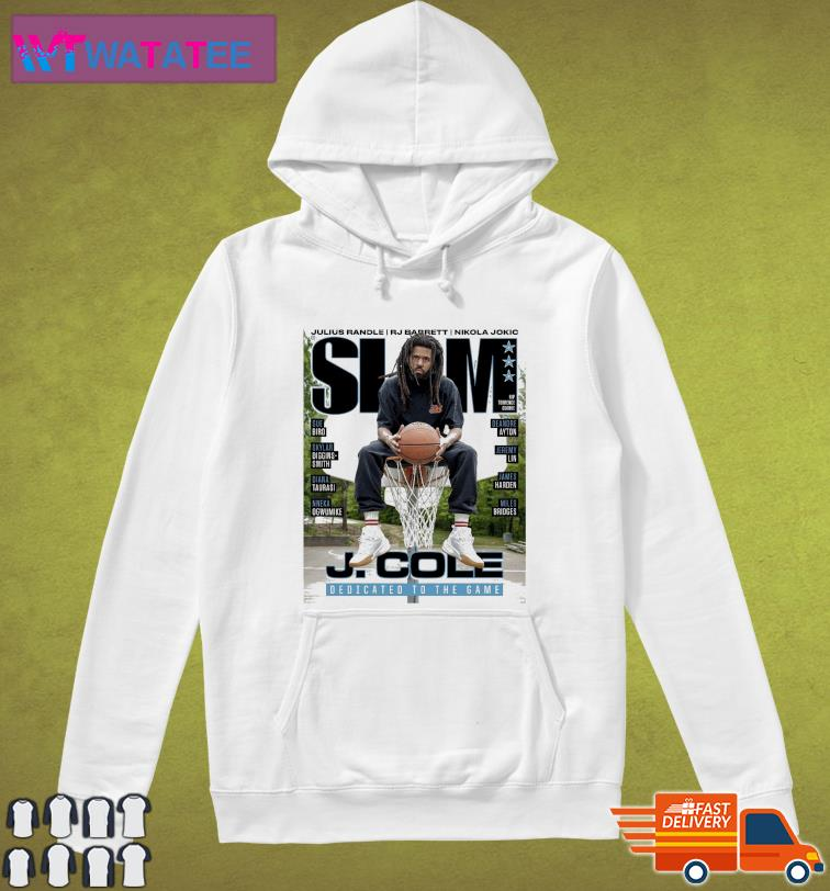 Official SLAM J. Cole DEdicated To The Game t-Shirt Hoodie