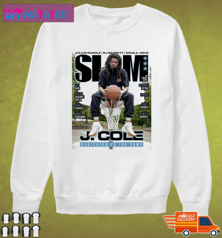 Official SLAM J. Cole DEdicated To The Game t-Shirt Sweater