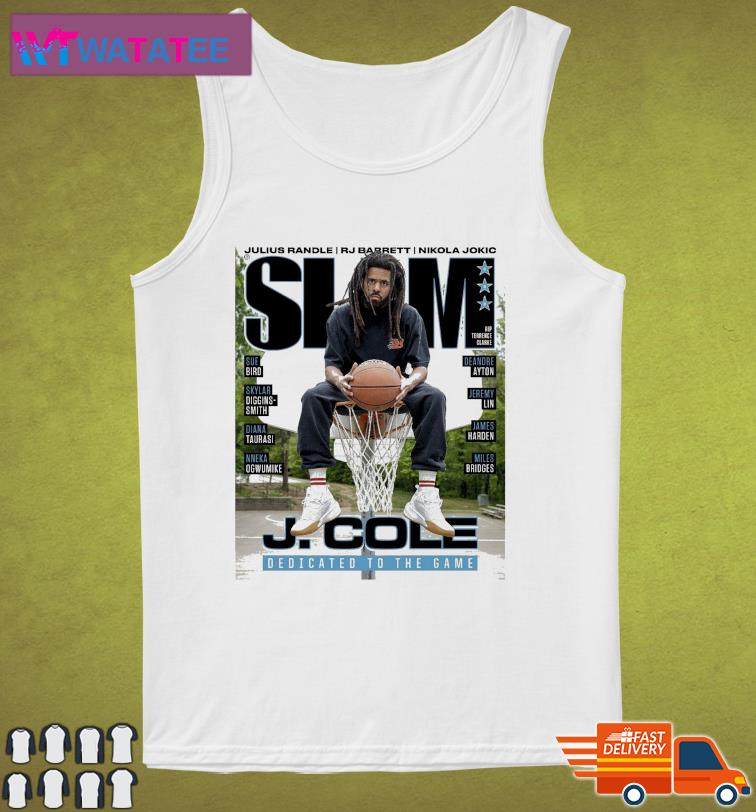 Official SLAM J. Cole DEdicated To The Game t-Shirt Tank Top