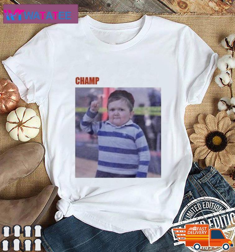 CHAMP H III POSTER TEE SHIRT