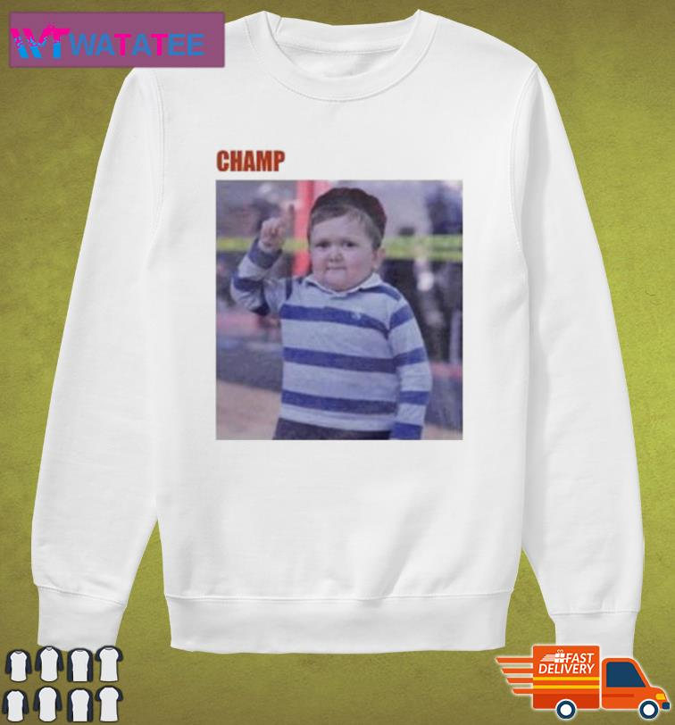 CHAMP H III POSTER TEE SHIRT Sweater