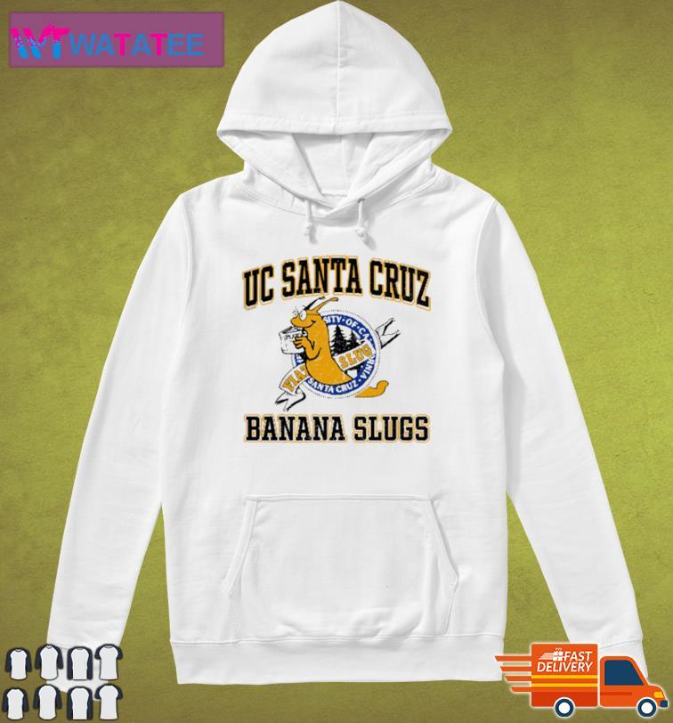 Uc Santa Cruz Banana Slugs Shirt Hoodie