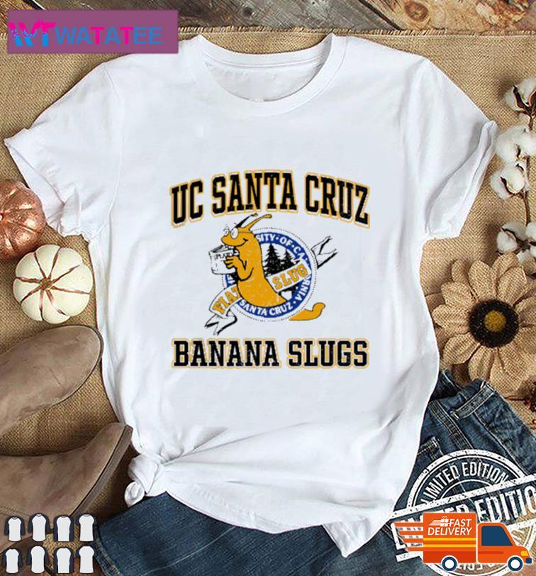 Uc Santa Cruz Banana Slugs Shirt