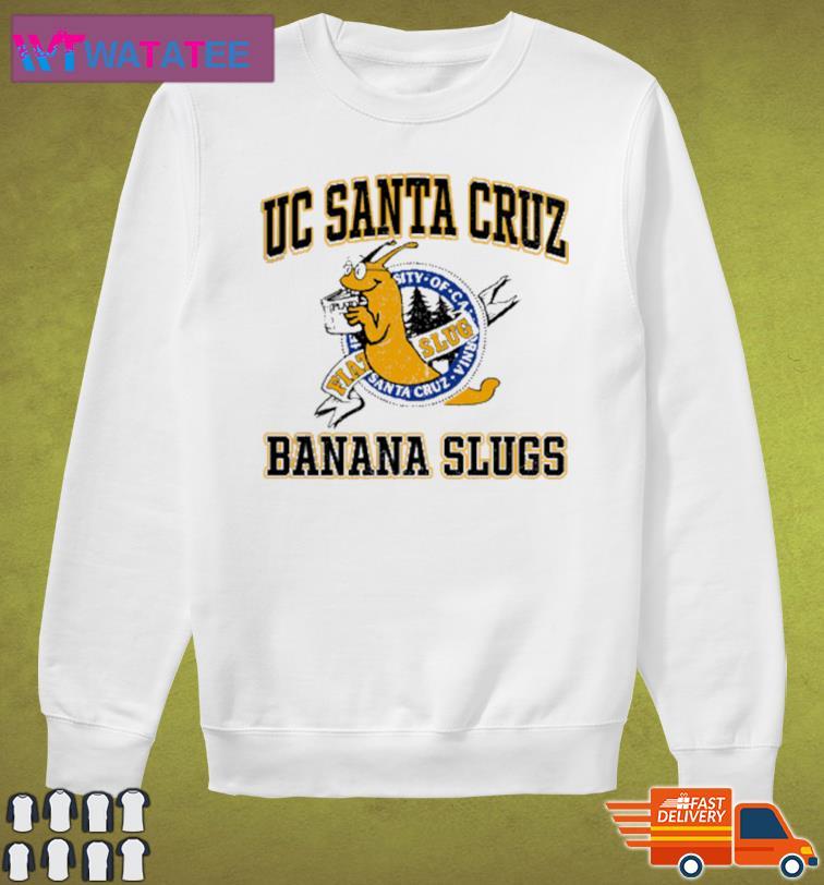 Uc Santa Cruz Banana Slugs Shirt Sweater