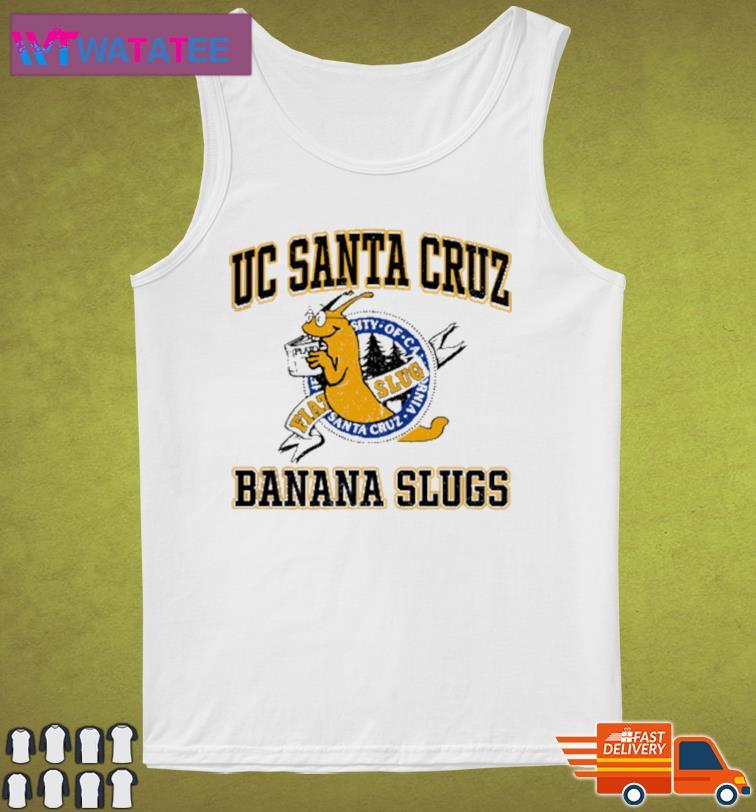 Uc Santa Cruz Banana Slugs Shirt Tank Top